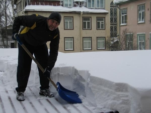 Winter snow cleaning