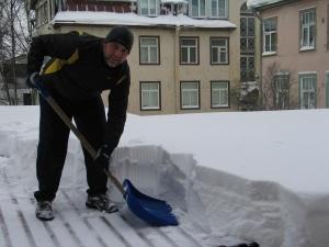 Talvine lumekoristus.